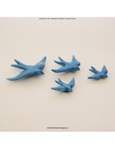 Blue Color Swallows (Pack 4)